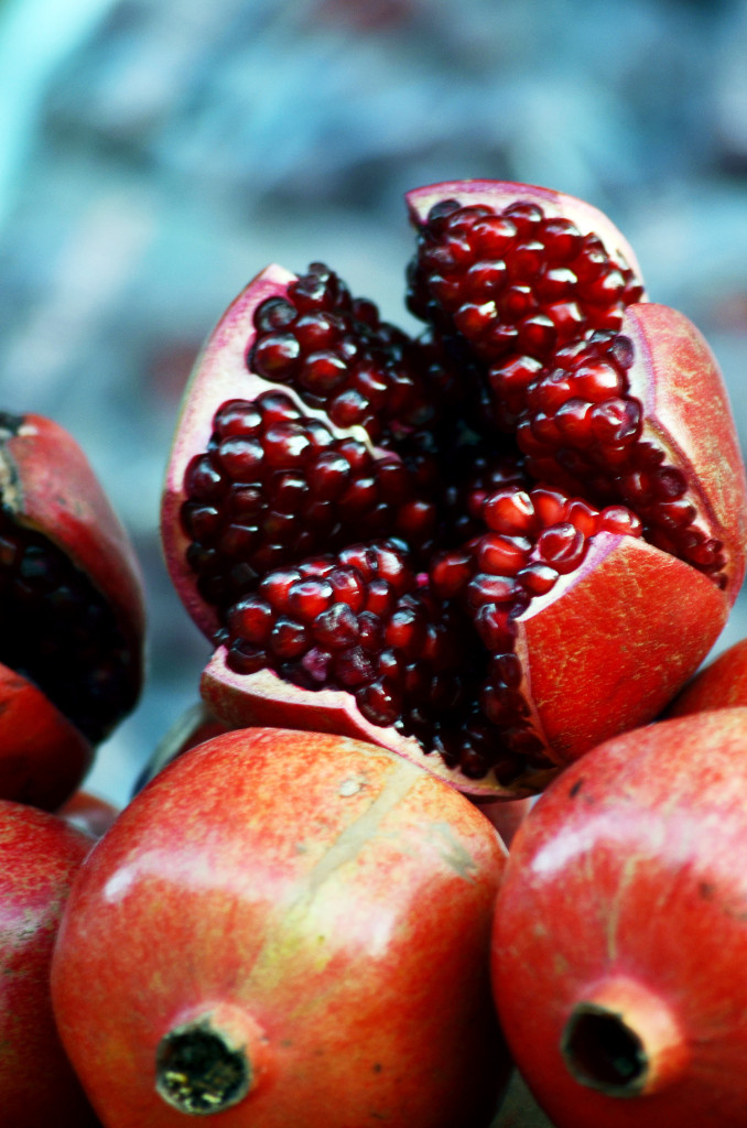 Pomegranate as photographed by Augustus Binu